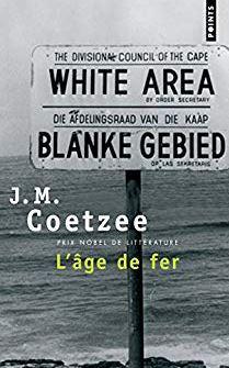 L'âge de fer de J.M. Coetzee